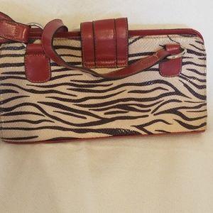 Rosetti Bags - Zebra print purse